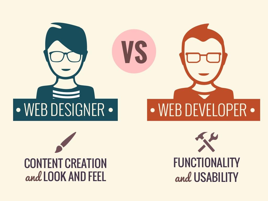 Perbedaan Web Desain dan Web Development